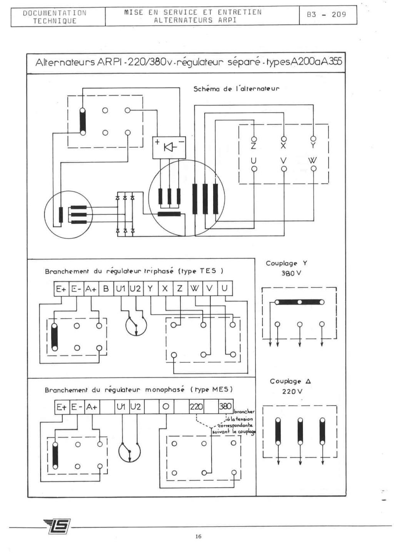 remise en marche d'une génératrice leroy TA200 B3_20927