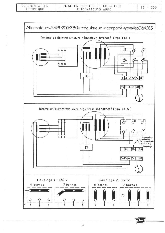 remise en marche d'une génératrice leroy TA200 B3_20928