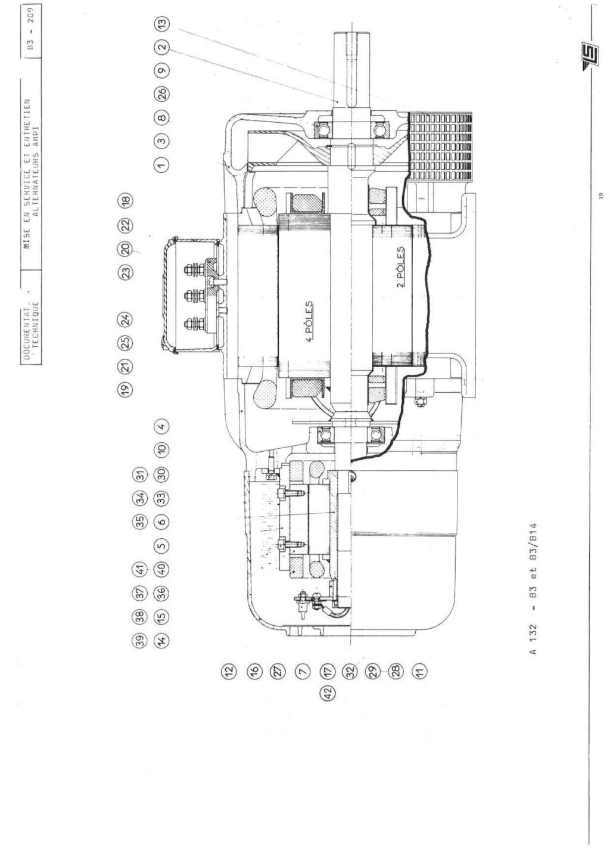 remise en marche d'une génératrice leroy TA200 B3_20930