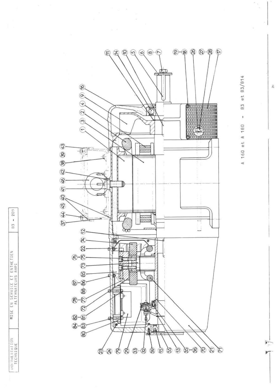 remise en marche d'une génératrice leroy TA200 B3_20931