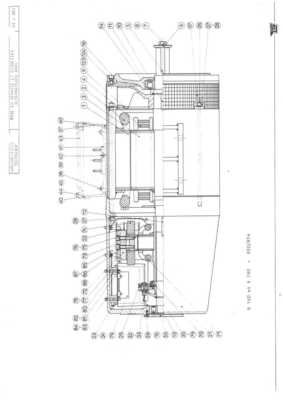 remise en marche d'une génératrice leroy TA200 B3_20934