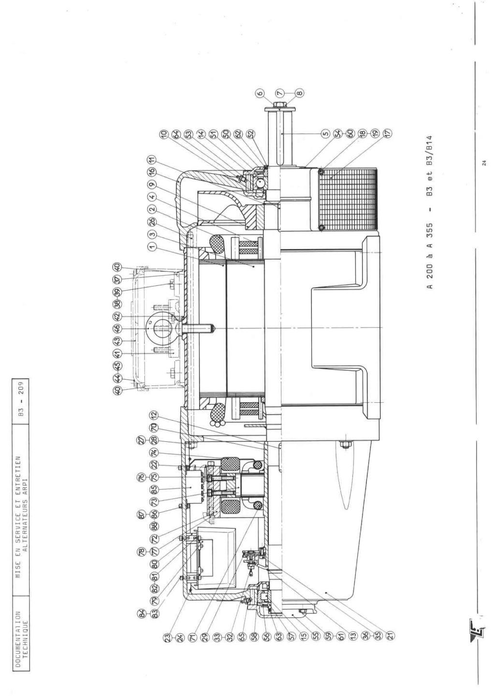 remise en marche d'une génératrice leroy TA200 B3_20935