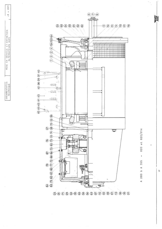 remise en marche d'une génératrice leroy TA200 B3_20938