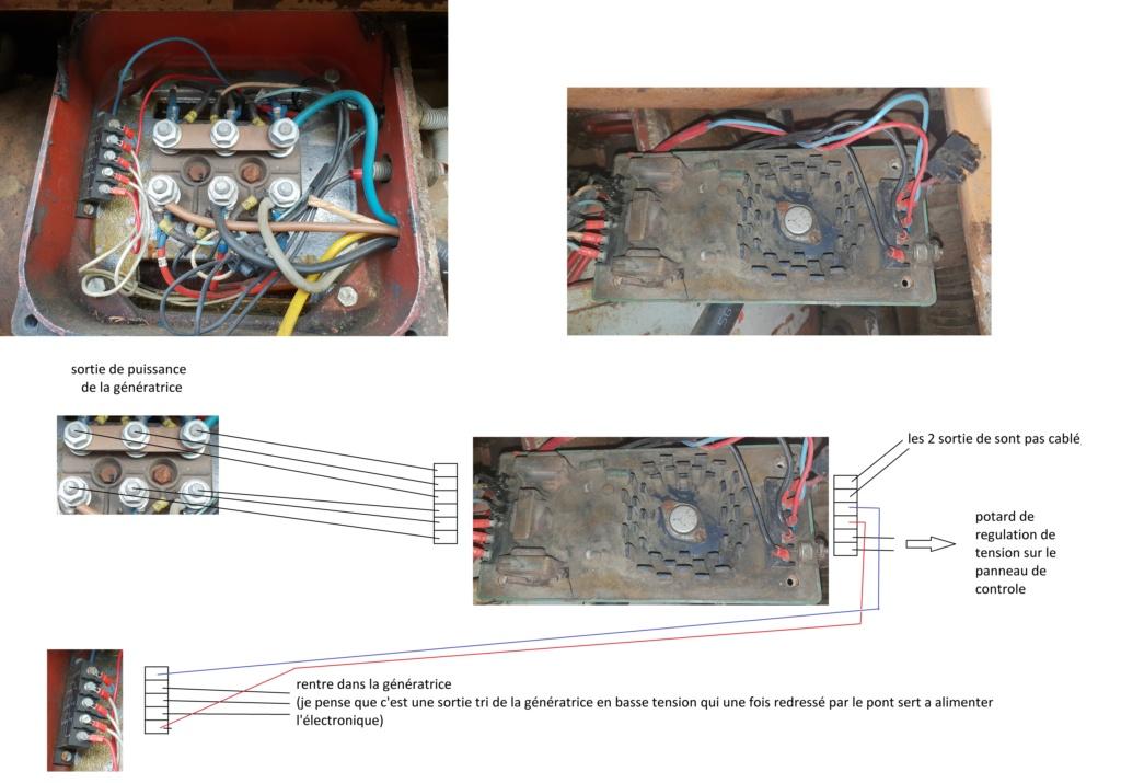 remise en marche d'une génératrice leroy TA200 Schzom10