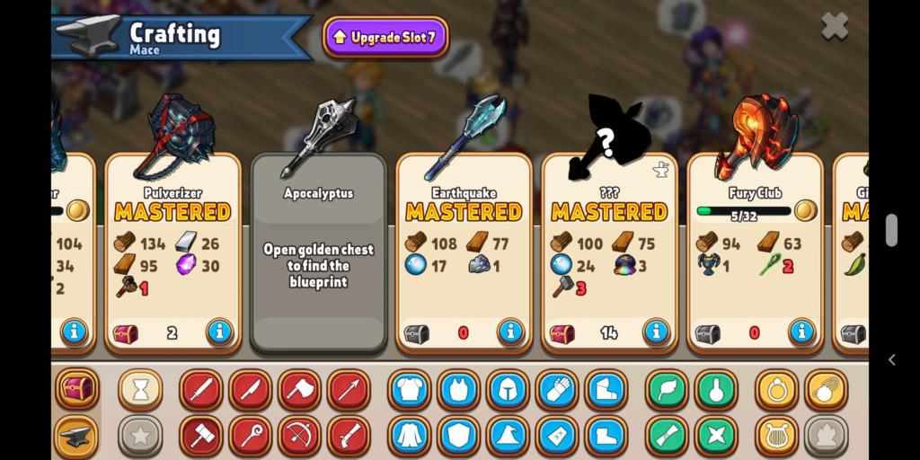 (Non-Raid:) City ??? Relic Mace Crafting Event Screen10