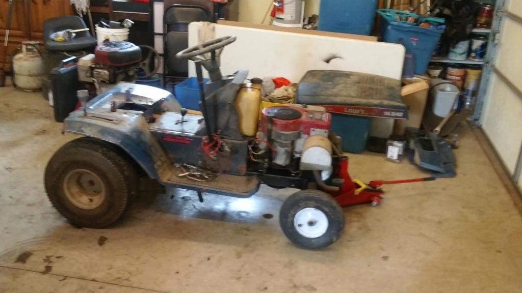 Murraymountain's Lawn Tractor Repairs 20190217