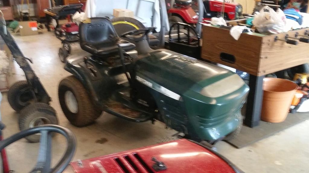 Murraymountain's Lawn Tractor Repairs 20190222