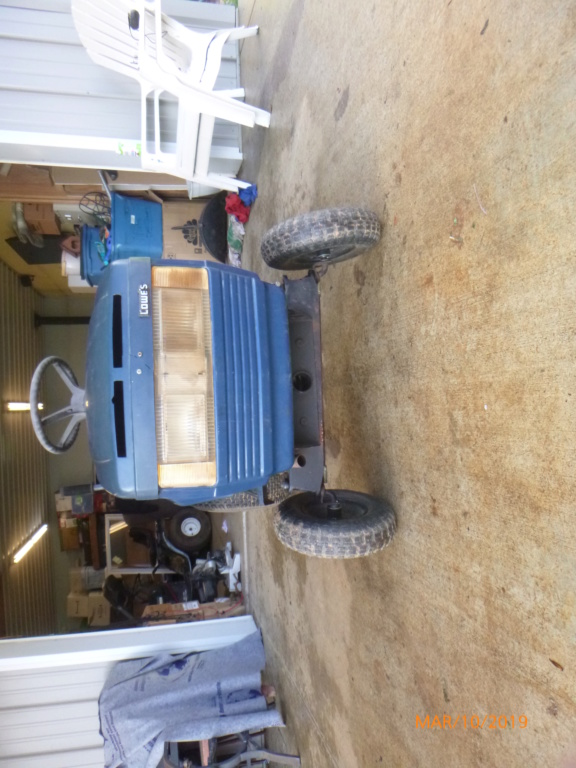 Murraymountain's Lawn Tractor Repairs P1100415