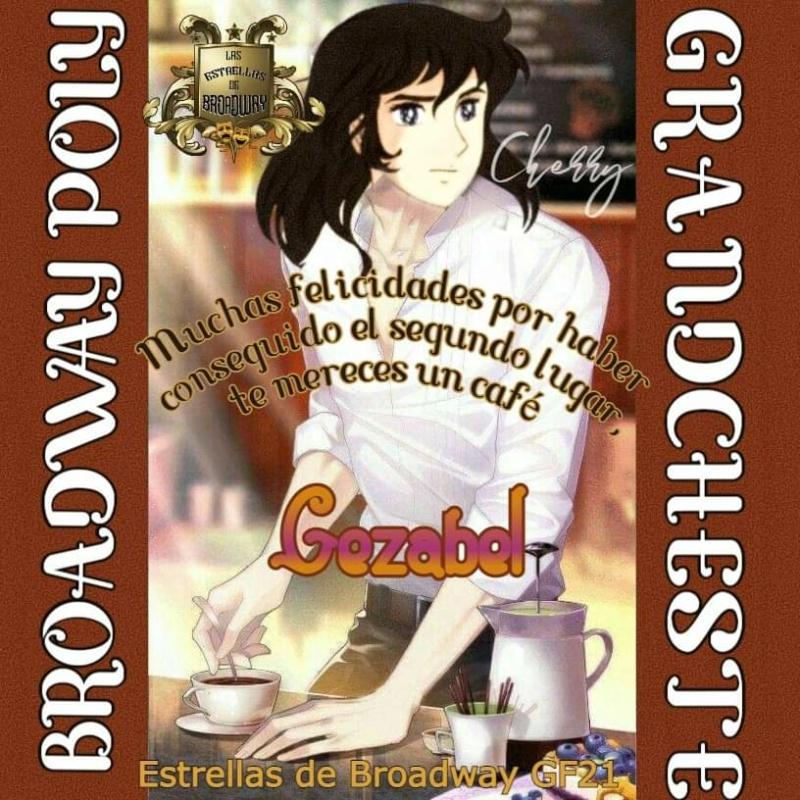☆☆☆☆☆☆☆☆LAS ESTRELLAS DE BROADWAY PRESENTAN SEGUNDO LUGAR EN EL BROADWAYPOLY☆☆☆☆☆☆☆☆ Receiv29
