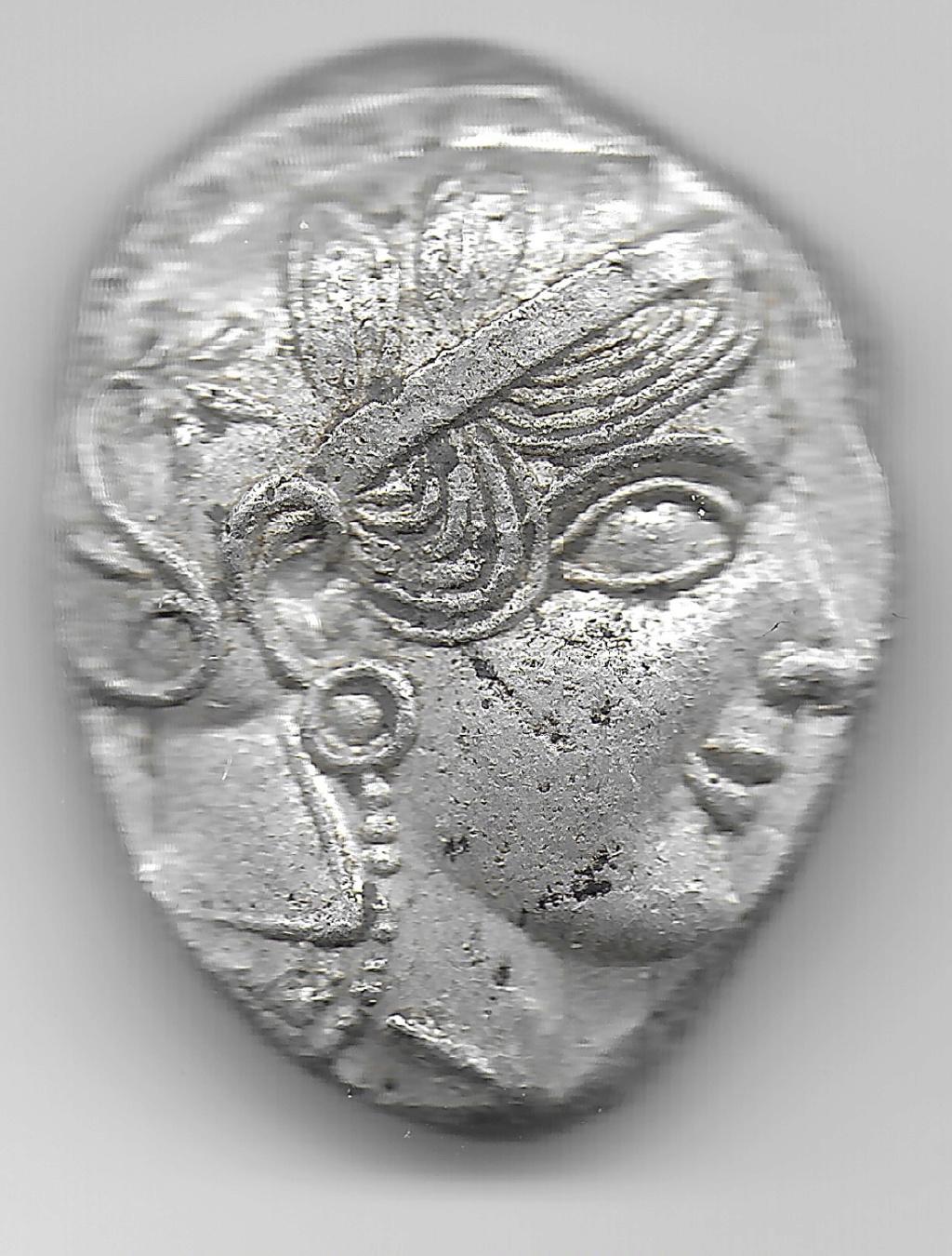 Tetradracma de Atenas 1410