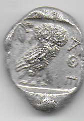 Tetradracma de Atenas 1510