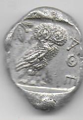 Tetradracma de Atenas 1511