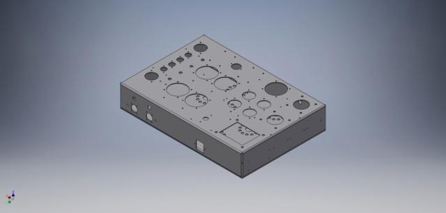 Un amplificatore per cuffie elettrostatiche ( コジンスキー ) - Pagina 5 Telaio13