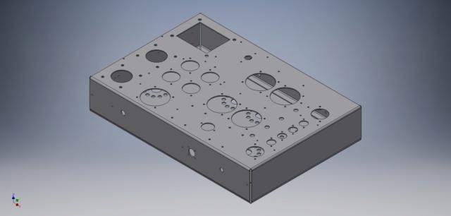Un amplificatore per cuffie elettrostatiche ( コジンスキー ) - Pagina 5 Telaio15