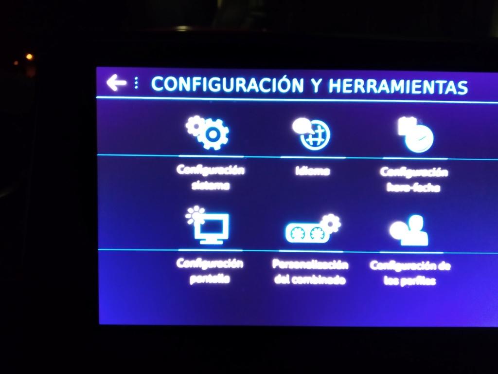 Reconfiguración a idioma español Pantal10