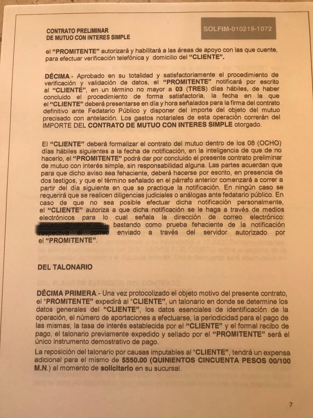 Fraude respaldos y garantías libertad l, solfim y grupo de alcance y economía dinámica s.a de c.v  B5f95010