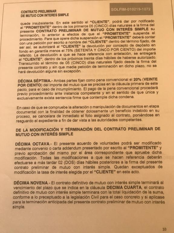 Fraude respaldos y garantías libertad l, solfim y grupo de alcance y economía dinámica s.a de c.v  C8ec2810