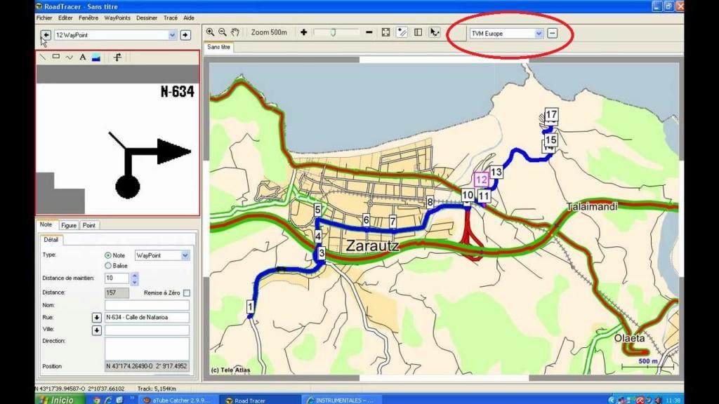 Tripy et cartographie Maxres10