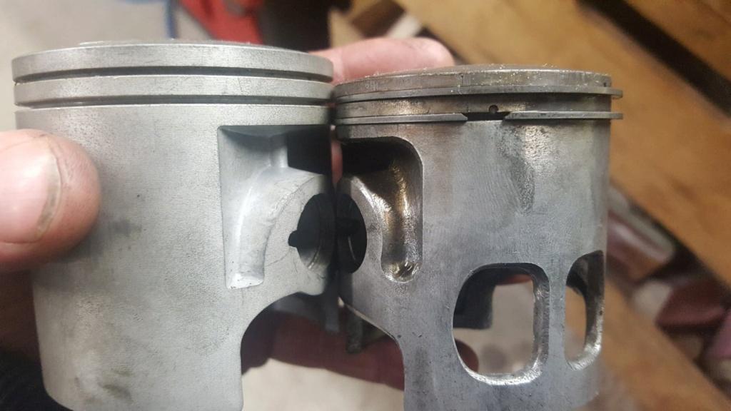 Adaptation cylindre Chinois 175 (18L) sur bas moteur 125 2A8 13192610