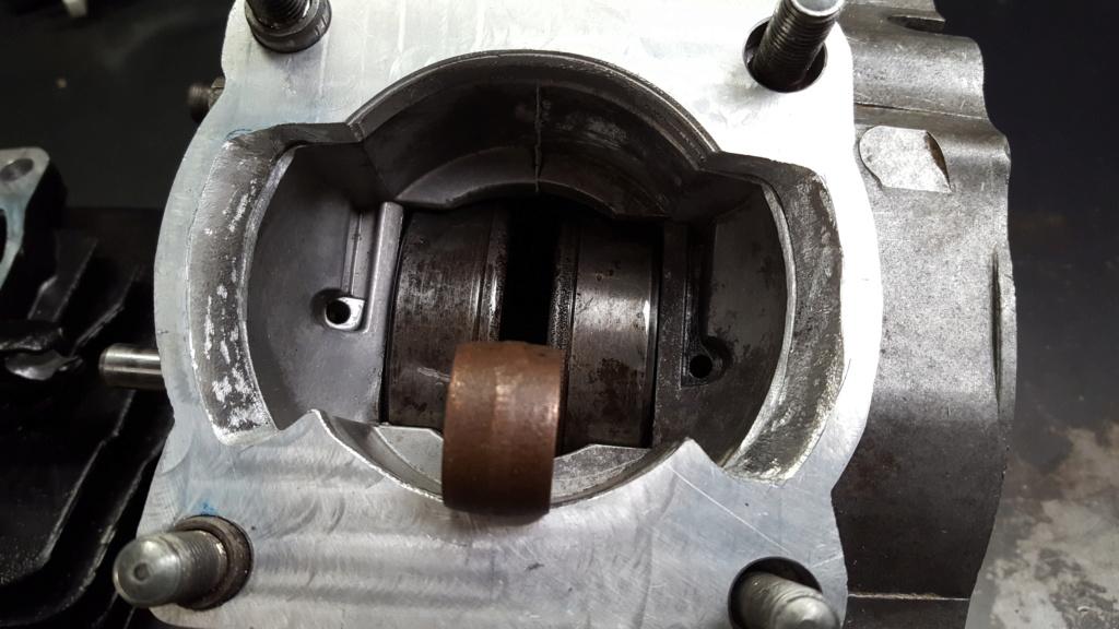 Adaptation cylindre Chinois 175 (18L) sur bas moteur 125 2A8 20210118