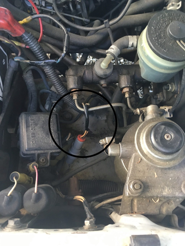 Toyota LJ73 voyant Préchauffe et Tbelt ne s'allume plus Fil_co10