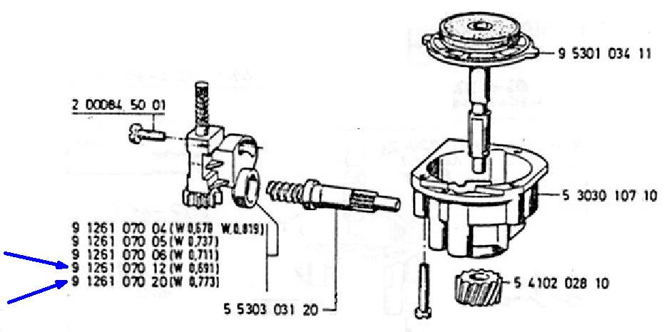 Ratio compteur R80RT1 de fin 1985 Entraz10