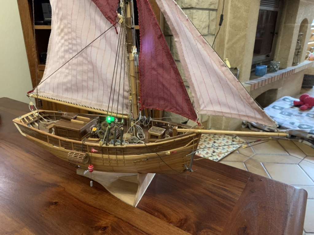 Langoustier Breton «Le Camaret» échelle 1:35ème - Constructo F6011110