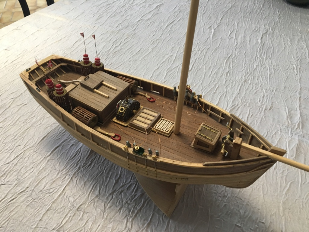 Langoustier Breton «Le Camaret» échelle 1:35ème - Constructo Fe80ee10