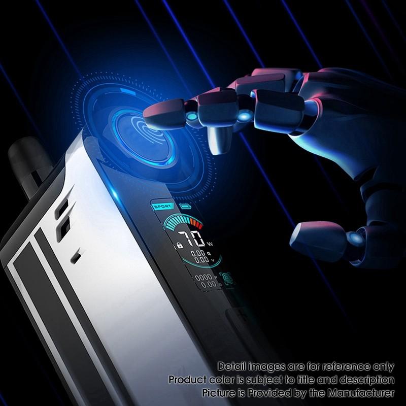 TGO 70w de Vapefly : le système à pods avec empreinte digitale !  Authen11