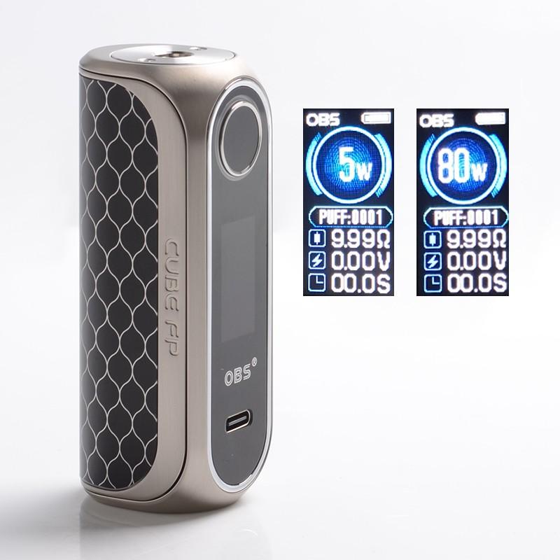 OBS Cube FP 80 watts : la box à lecture d'empreinte digitale Box_cu10