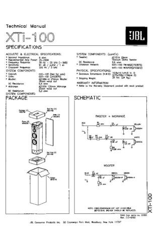 ampli sympa pour JBL - Page 9 Xti_1010