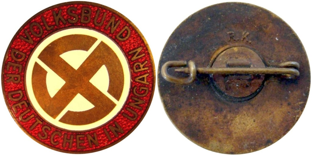 Badge du parti Hongrois Fn32-f10