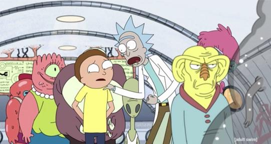 Les références à Star Trek dans Rick et Morty 223e3610