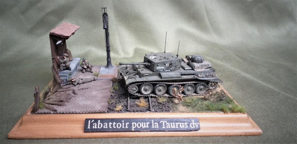 <<L'ABATTOIR POUR LA TAURUS DIVIVISION>>dio términé Cromwell 1/72 Revell L_abat12
