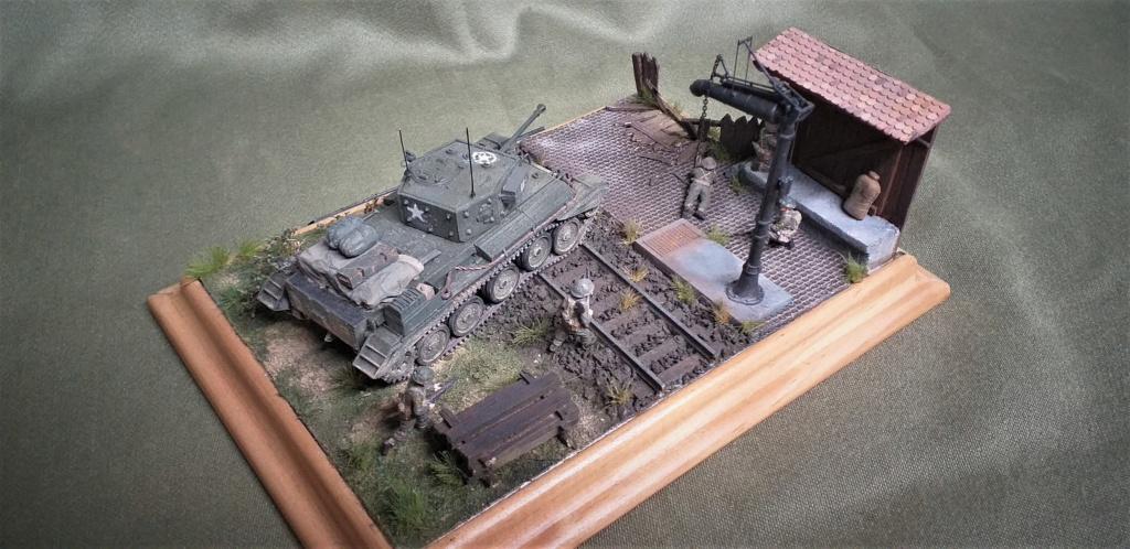 <<L'ABATTOIR POUR LA TAURUS DIVIVISION>>dio términé Cromwell 1/72 Revell L_abat15