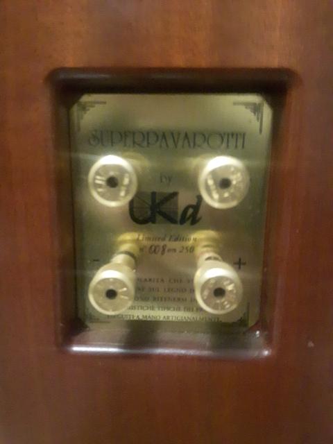Diffusori Superpavarotti by UKd Limited Edition 20200122