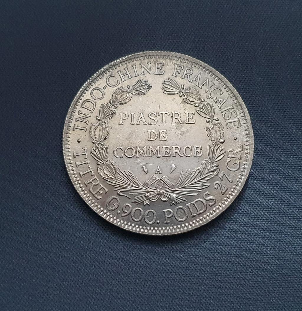 1 Piastra Indochina 1908 falsa? 20201113
