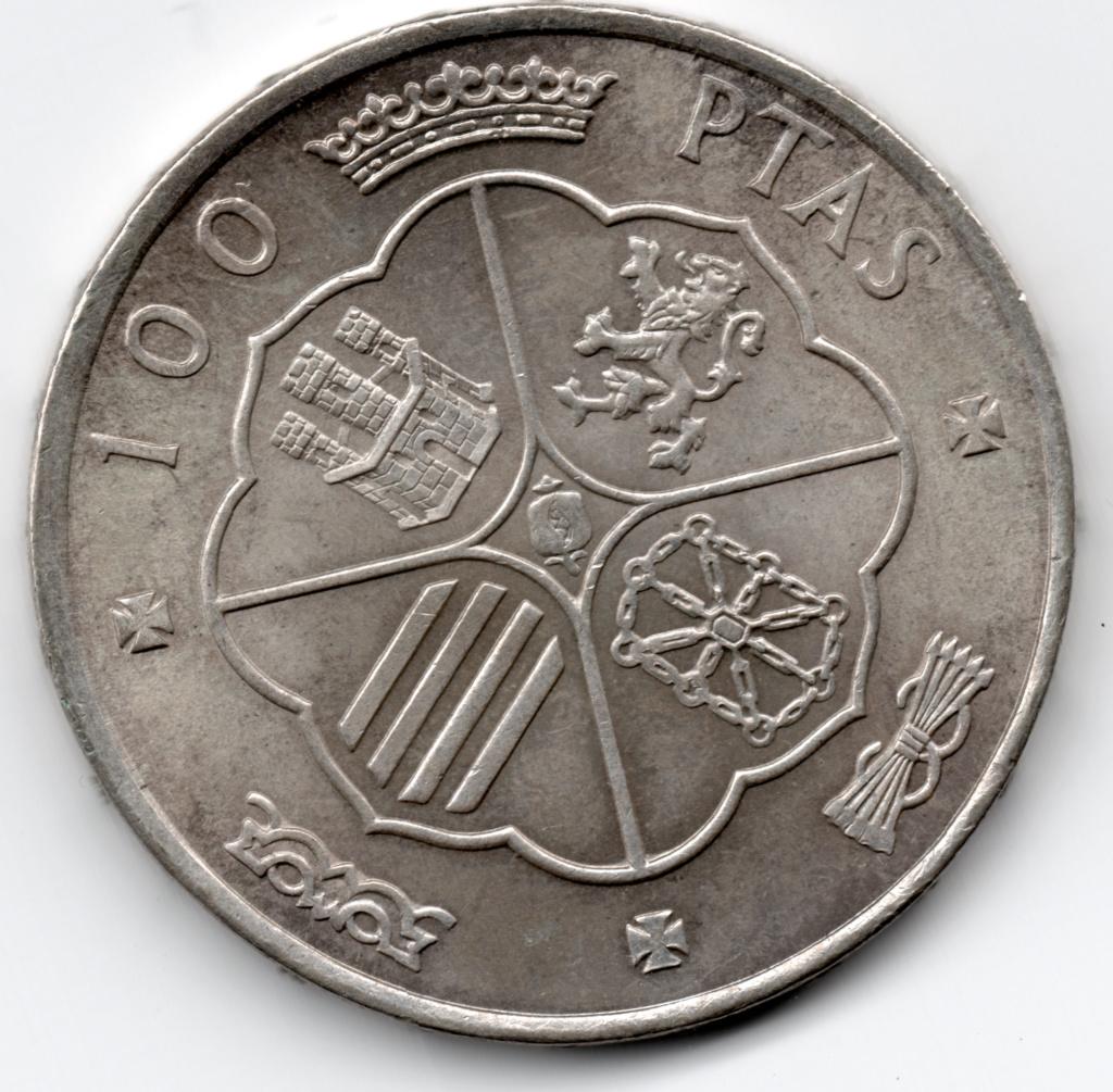 100 Pesetas 1966 (*19-69). Palo recto. Estado Español Img20214