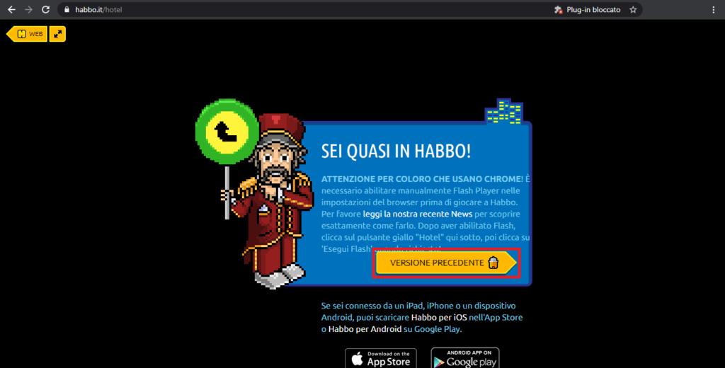 Come giocare ad Habbo nel 2021 con adobe flash player!! Foto212