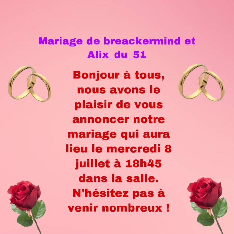 Mariage de Alix_du_51 et breackermind  473eb710