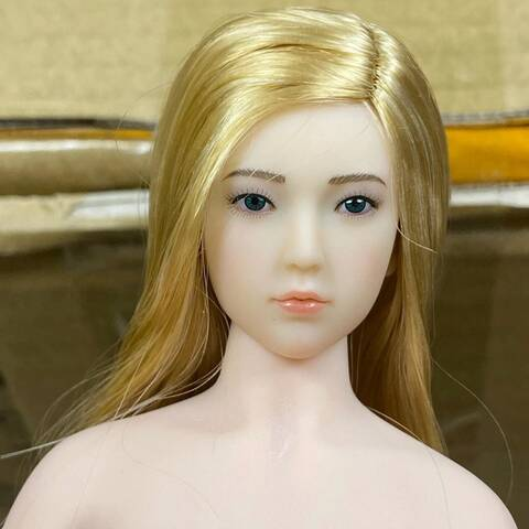 "12/"" JIAOU DOLL 1:6 Flexible European Female Suntan Big Bust Figure Body PVC Doll"