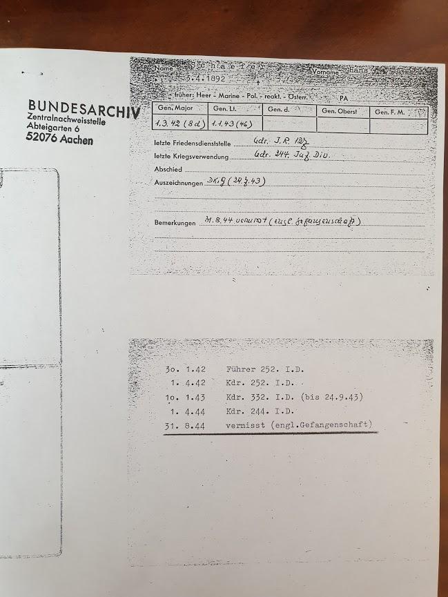 Generalleutnant Hans Schaefer  Schaef14
