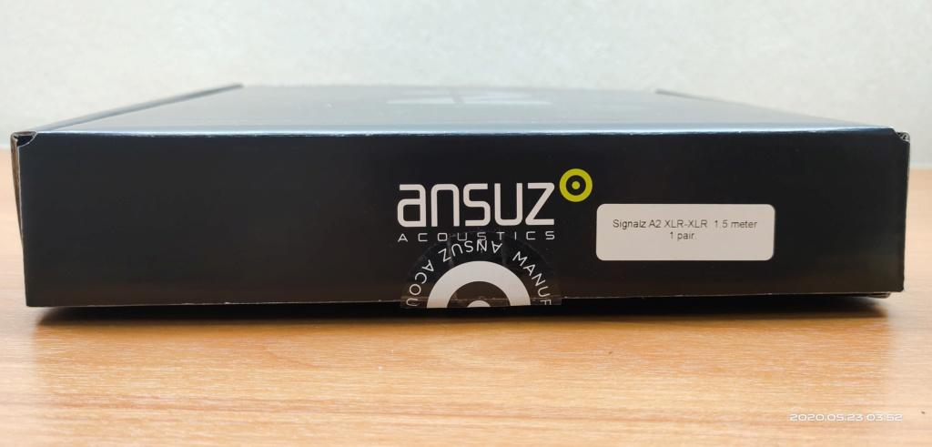 Ansuz A2 XLR interconnect 1.5 meter cable 2020-010