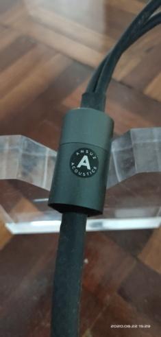 Ansuz Aluminium speaker cable 2.5meter (B-B) - SOLD 2020-021