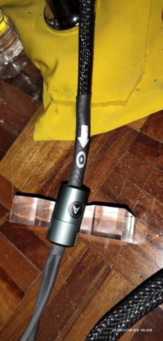 Ansuz Aluminium speaker cable 2.5meter (B-B) - SOLD 2020-023