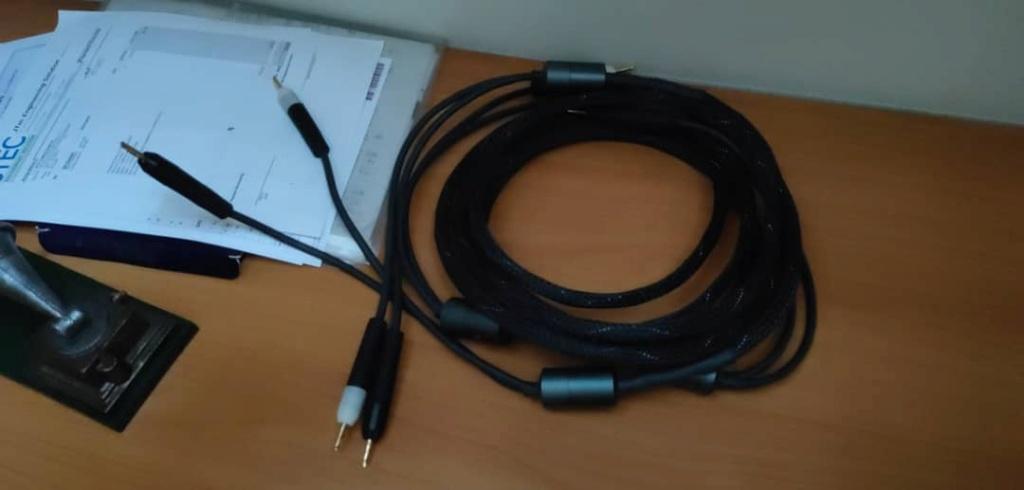 Ansuz Aluminium speaker cable 2.5meter (B-B) - SOLD Img-2010