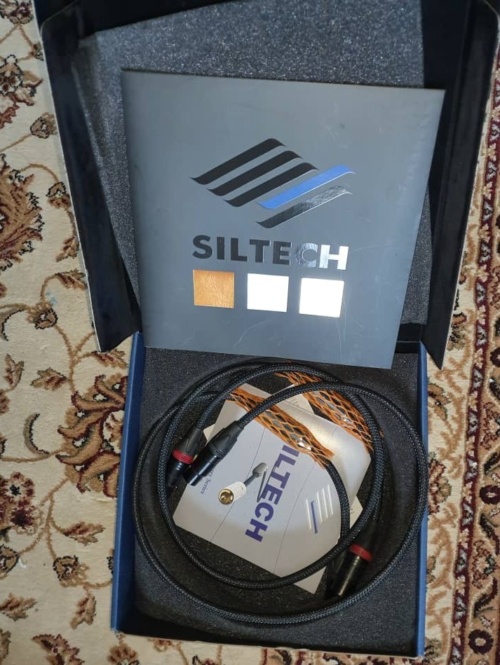 Siltech Classic 770i Analogue Interconnects (XLR 1m) - Sold S310