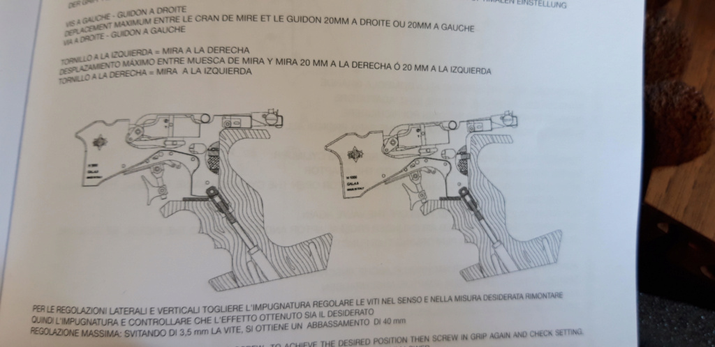 Matchguns - mgh1 hybrid - réglage crosse 410