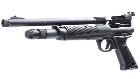 pistolet co2 - canon rayé - multi diabolos - non réplique Umarex10