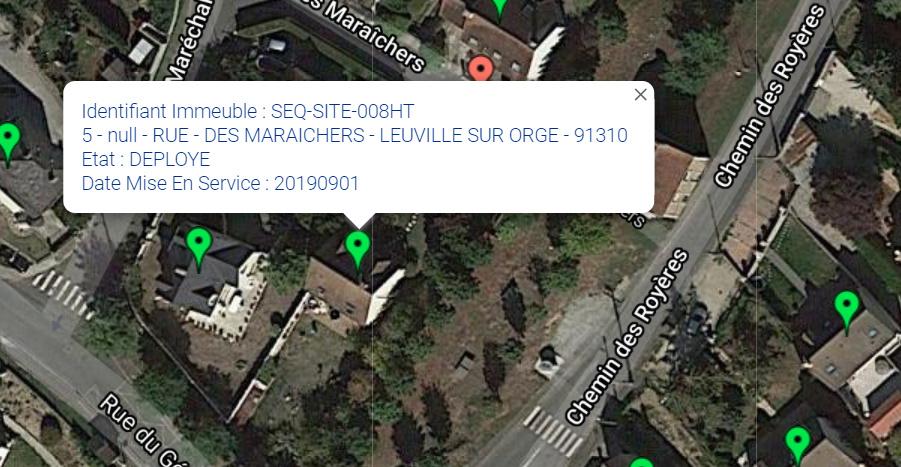 Covage / SMTH  2 rue des maraichers 91310 Leuville sur orge 510